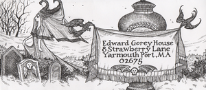 Edward Gorey Envelope by pixelfish