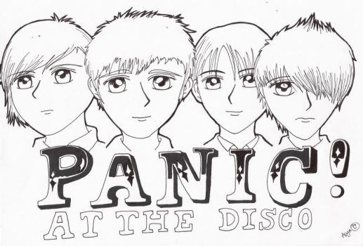 Panic At the disco by kirbylinklink