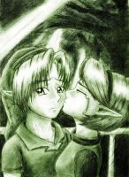 Saria's Farewell by fantasy4eternity