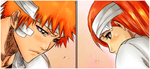 Color IchiHime by Teplyshko-chan