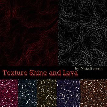 Texture Shine and Lava by Natalivesna