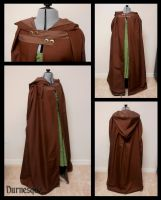 Cross Button Cloak by Durnesque