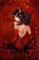 WO75H17 Liza in Red by Leto4rt