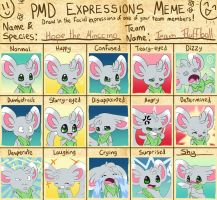 PMD expressions meme - Hope by TheUnununium
