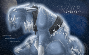 Sitting in the Rain by souku