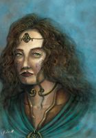 Boudicca Celtic Warrior Queen by JosueRodas