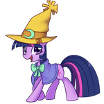Twilight Sparkle - Black Mage by Bukoya-Star