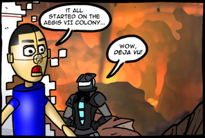 Dead Space Aftermath by theEyZmaster