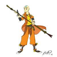 New Aang Colored by NicParris