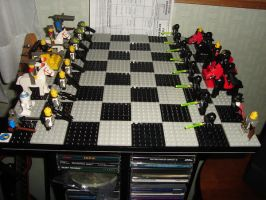 Lego Chess Board by best360
