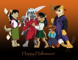 Happy Halloween - DR Style by CarnivorousCaribou