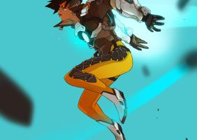 Overwatch Tracer by ArtofGrelin