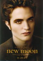 New Moon Edward Poster by blondexslytherin928