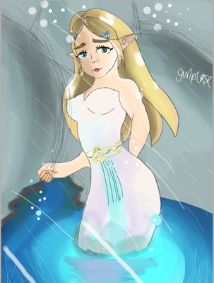 Zelda by gurlplease