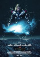 Thor:The Dark World (Fanmade Poster/For Class) by gravvity