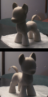 A sculpted pony is in the works by AleximusPrime