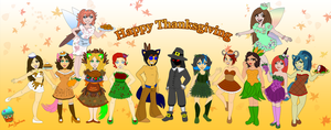 Happy Thanksgiving by AilwynRaydom