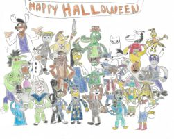 TUFF Agents' Halloween Party by TUFFAgentShepherd