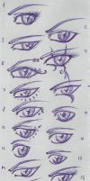 Eye Practise - OC by Sailyonera