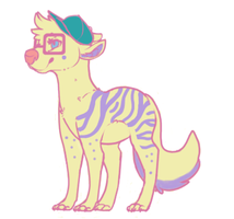 cheap pastel dog OPEN by Madylyne