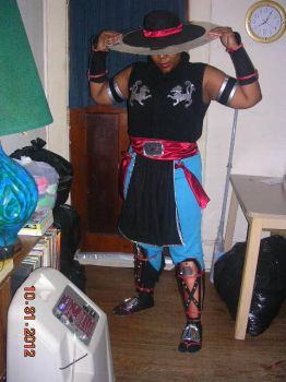 Kung Lao Costume 1.0 by GirlGlycerine