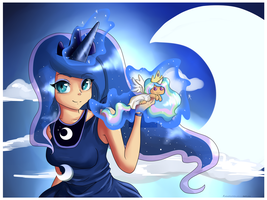 Princess Luna by Pon3Splash