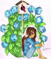The Hydrangea House by Ignited-Sights