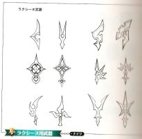 Larxene's Weapon References by SnowpirateRoy