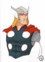Quick Thor by AndrewKwan