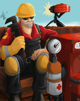 RED Engineer by LittleMeesh