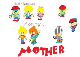 Mother tribute ON PAINT by pkchu9000