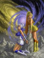 Senshi of the Galaxies by AlanGutierrezArt