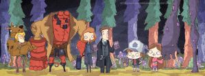 Gravity Falls!!! by lost-angel-less