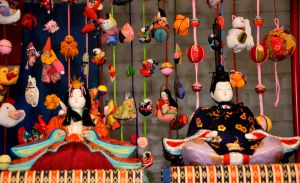 Japanese Doll Curtain by AndySerrano