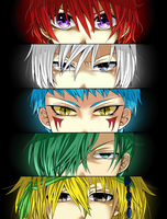Akatsuki no Yona : Dragons Bloodlines by Wiiwiipyon