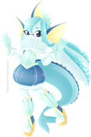 Vaporeon Inkling by Ghiraham-Sandwich