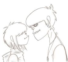 You're cute, luv ... by GoRiLlAz6666