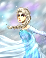 Elsa by flavorkun