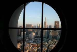 Transamerica from Coit by nwalter