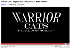Warrior Cats - R and S teaser by Yolly-anda
