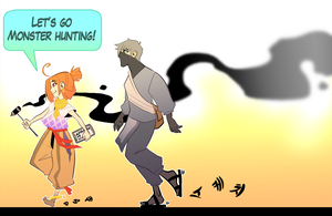 Let's go Monster Hunting! by macawnivore