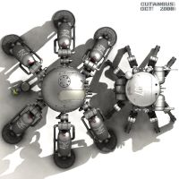 TEAM OF WAR ROBOTS by CUTANGUS