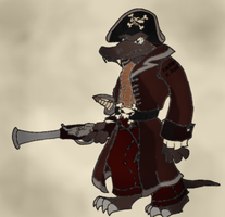 Old Pirate K Rool by ChetRippo