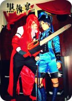 Grell and Ciel time by PsYcHoWoNdErLaNd