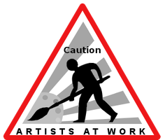 Artists At Work by DarreToBe