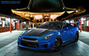 Widebody Nissan GTR by Gurnade