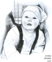 Comission piccy of a Baby by Noretus