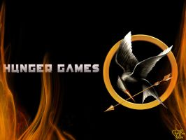 Hunger Games Wallpaper by Faye-Raven