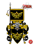 Zelda Coat of Arms by Lord-Giampietro