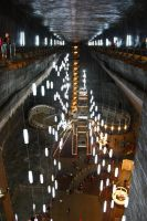 Turda salt mine by Lucy-art